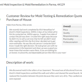 Basement Mold Inspection U0026 Mold Remediation In Parma, 44129