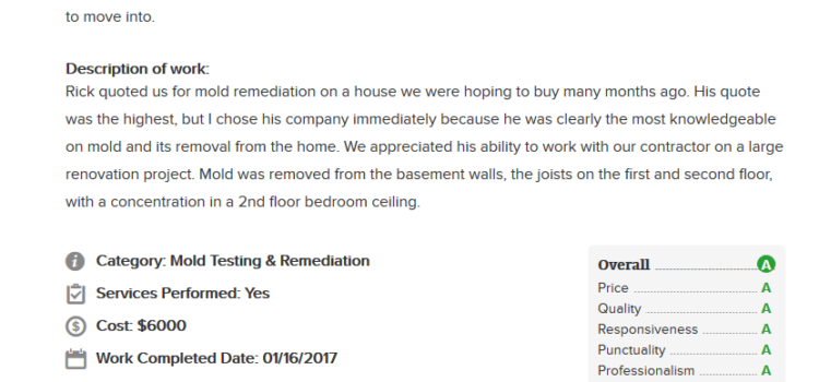 Dutchs Mold Review Cleveland Mold Remediation