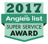 Angies List 2017 Award for Local Mold Inspector